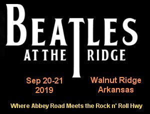 2019 Beatles at the Ridge Music Festival